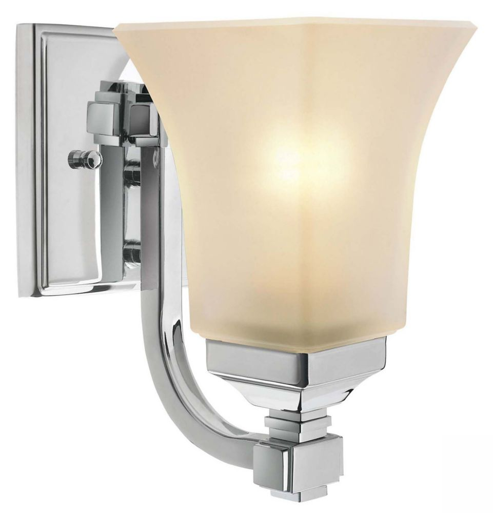 Mattice Chrome Sconce